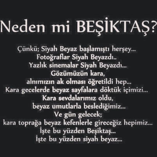 Neden Mi Beşiktaş?