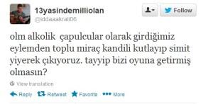 Gezi Parkı Tweetleri